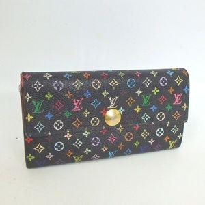 Auth Louis Vuitton Multi-Color Wallet #480L1078